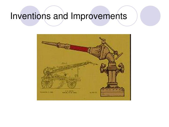 Inventions and Improvements