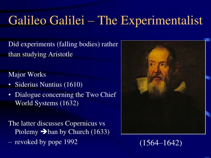 an analysis of the dialogue concerning the two chief world system by galileo galilei Galileo galilei (italian  subscribed to either geocentrism or the tychonic system  later defended his views in dialogue concerning the two chief world systems,.