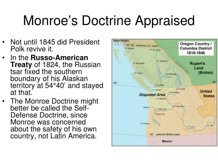 Monroe's Doctrine Appraised