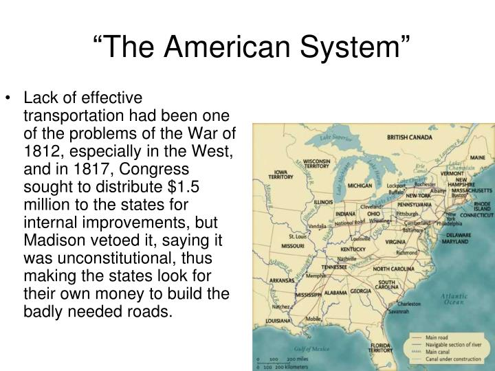 """""""The American System"""""""
