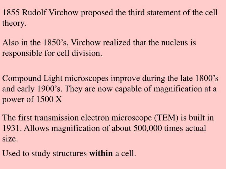 1855 Rudolf Virchow