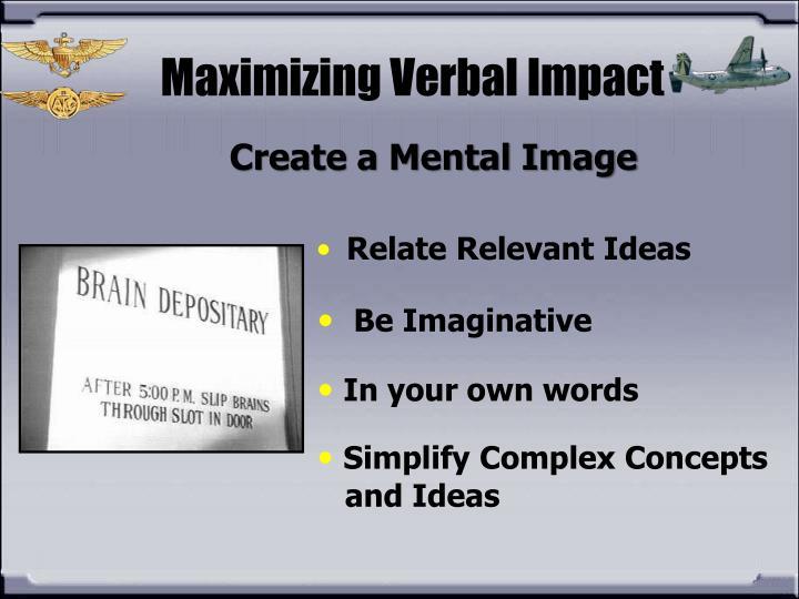 Create a Mental Image