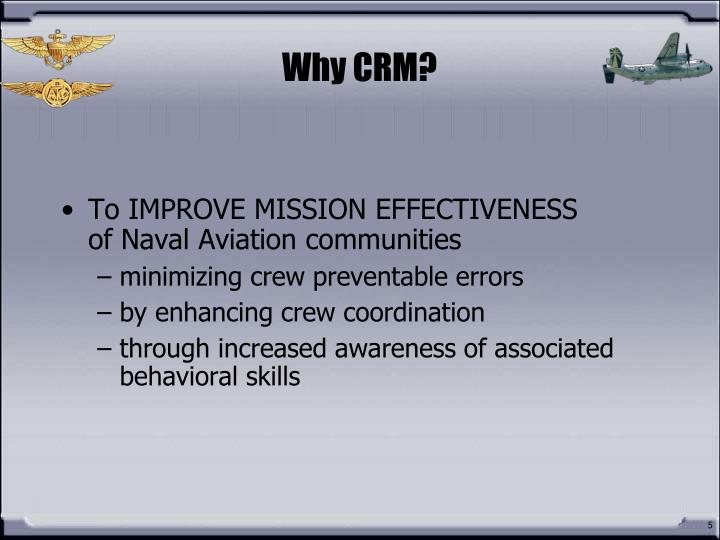 Why CRM?