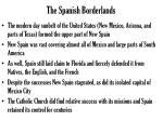the spanish borderlands