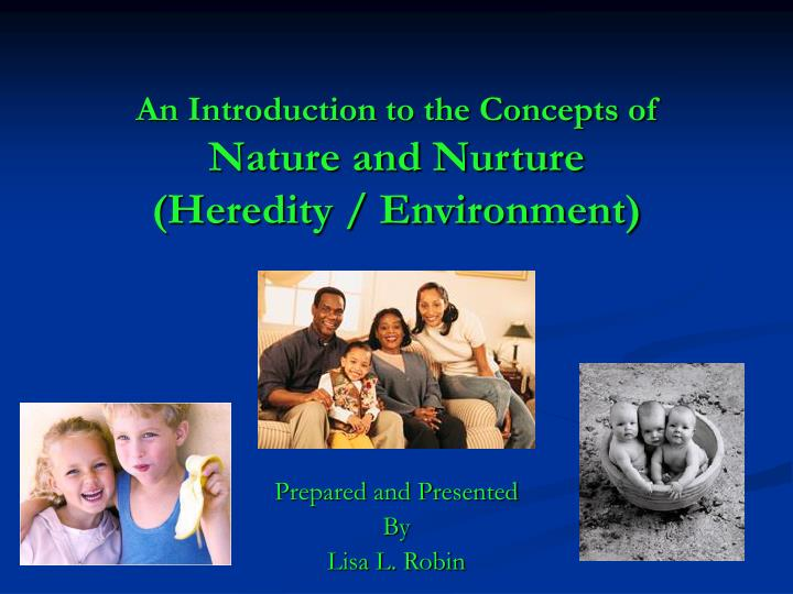 an introduction to the analysis of heredity traits Investigating inherited traits introduction heredity is the passing on of traits from parent to offspring the  analysis and conclusions 1 inferring.