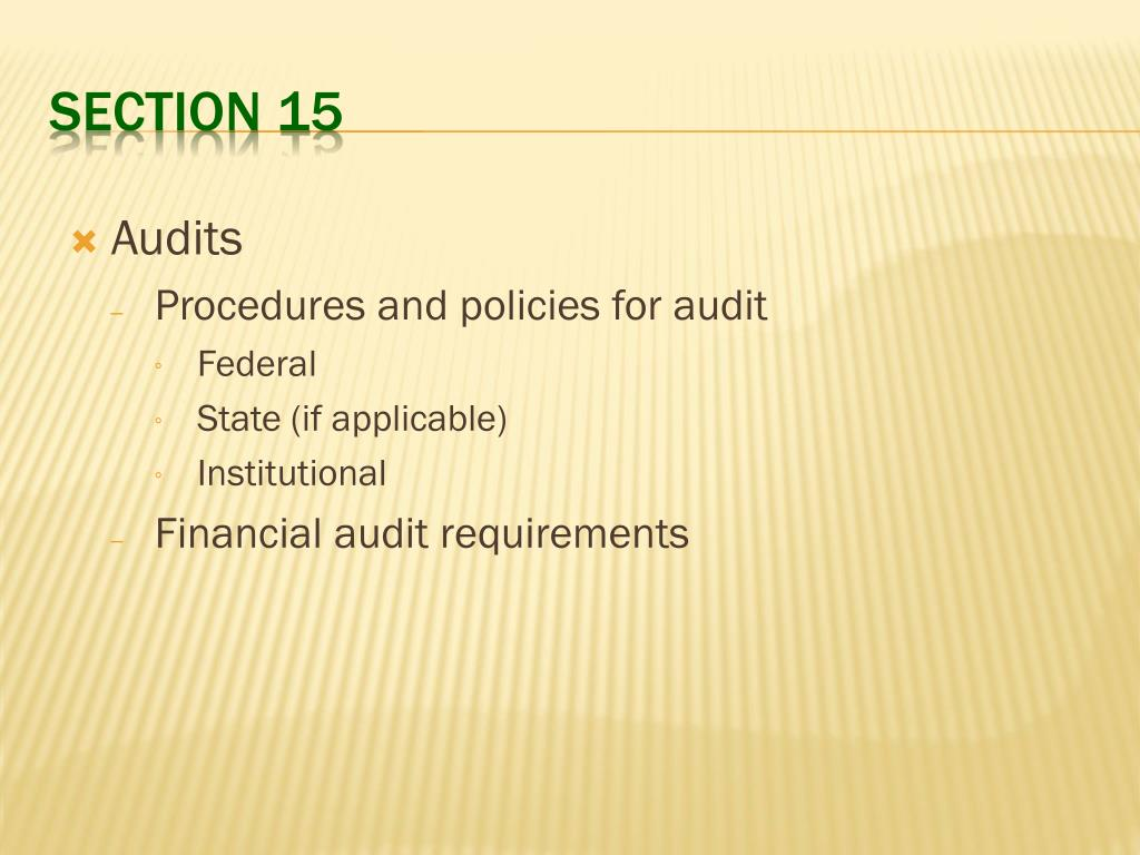 financial aid policies and procedures manual