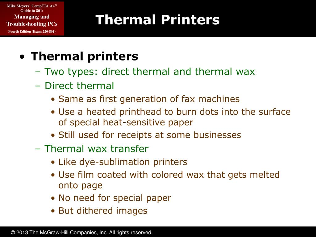 PPT - Printer Technologies and Installation PowerPoint