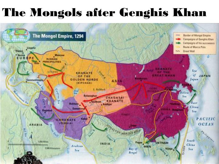 what drove the mongols to conquer most of the known world how could their military accomplish the ta Known during his childhood as temujin, genghis khan was the son of a mongol chieftain he suffered a difficult childhood, and when his young wife borte was kidnapped by a rival tribe, temujin united the nomadic, previously ever-rivaling mongol'turkic tribes under his rule through political manipulation and military might.