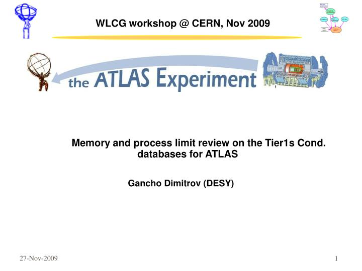 wlcg workshop @ cern nov 2009 n.