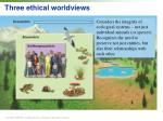 three ethical worldviews2