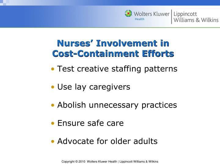Nurses' Involvement in