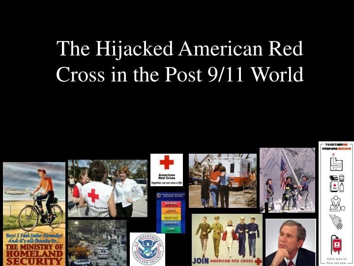 the hijacked american red cross in the post 9 11 world n.