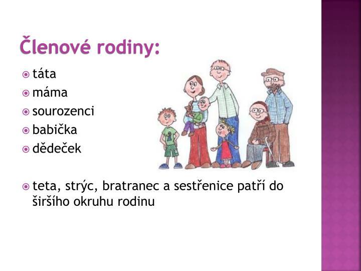 Ppt Rodina Powerpoint Presentation Id 7093170