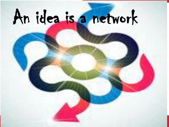 An idea is a network