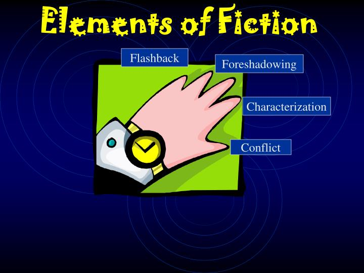 Ppt elements of fiction powerpoint presentation id:5768085.
