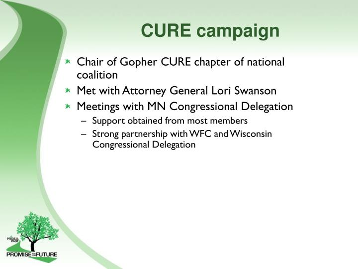 CURE campaign