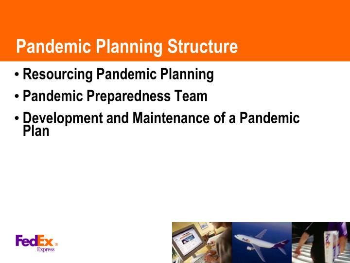 Pandemic Planning Structure