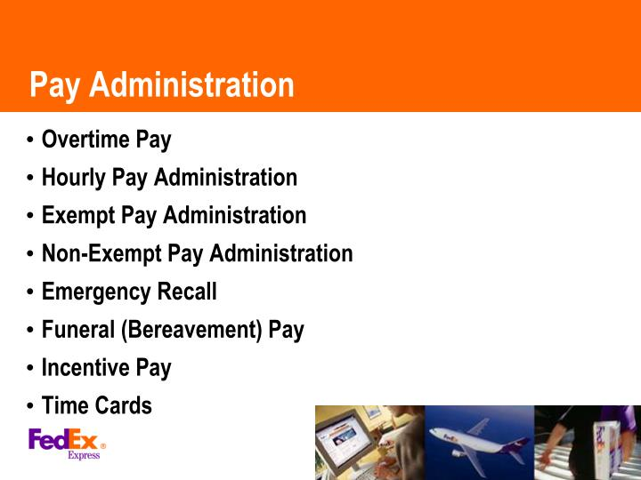 Pay Administration