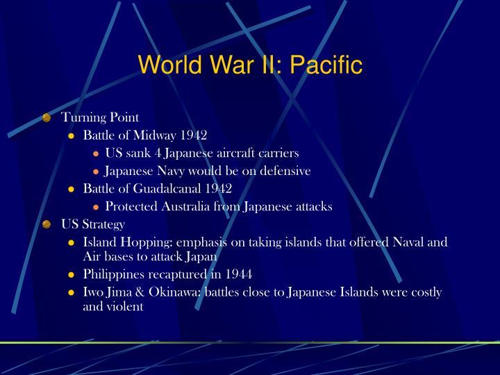 World War II: Pacific