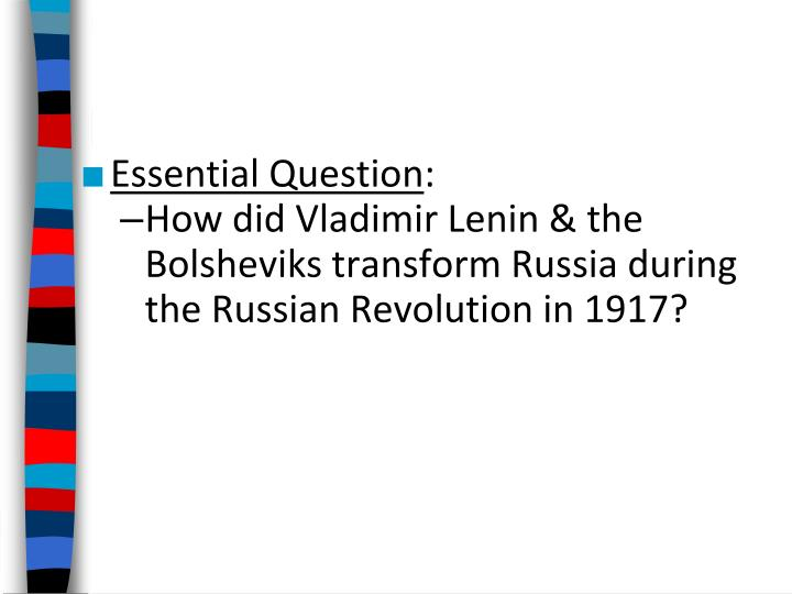 an analysis of stalins transformation of russia as a failure Welcome to /r/socialism socialism as a political system is defined by democratic and social control of the means of production by the workers for the good of the community rather than capitalist profit, based fundamentally on the.