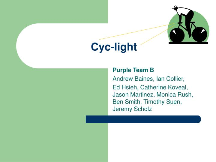 cyc light n.