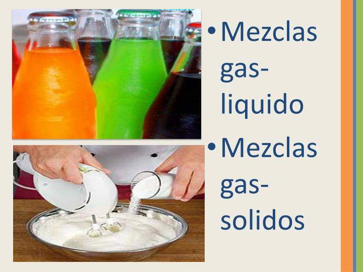 Mezclas gas-