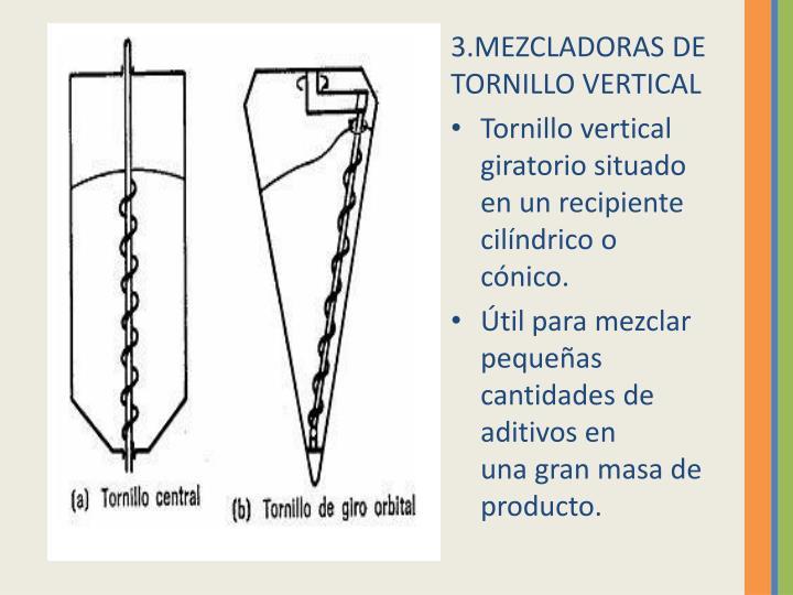 3.MEZCLADORAS