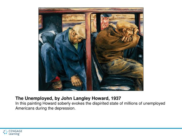 The Unemployed, by John Langley Howard, 1937