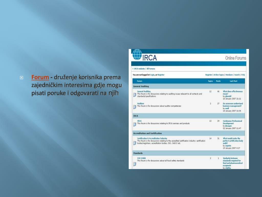 protokol za internetsko druženje brzinsko druženje hinckley