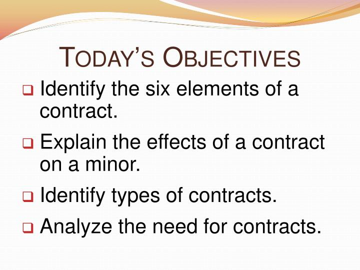 elements of contract law