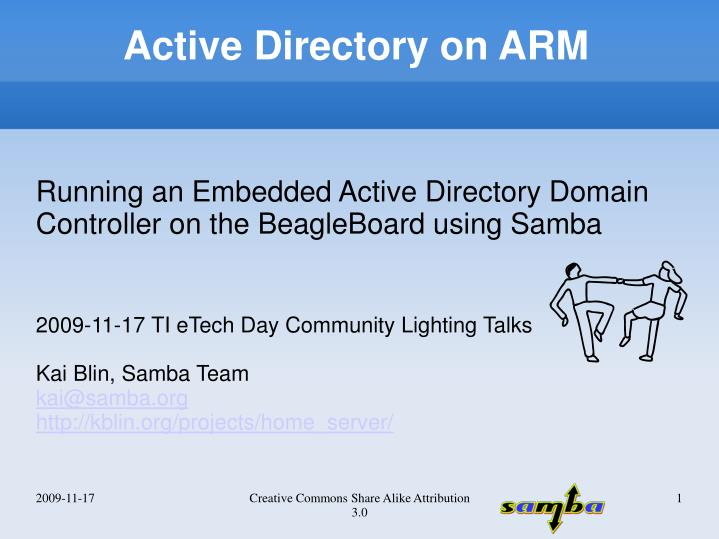 PPT - Active Directory on ARM PowerPoint Presentation - ID