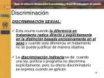 discriminaci n