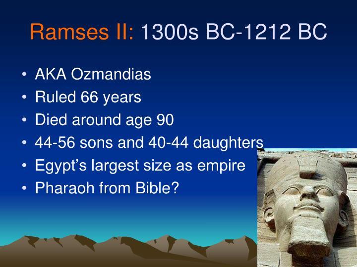 Ramses II: