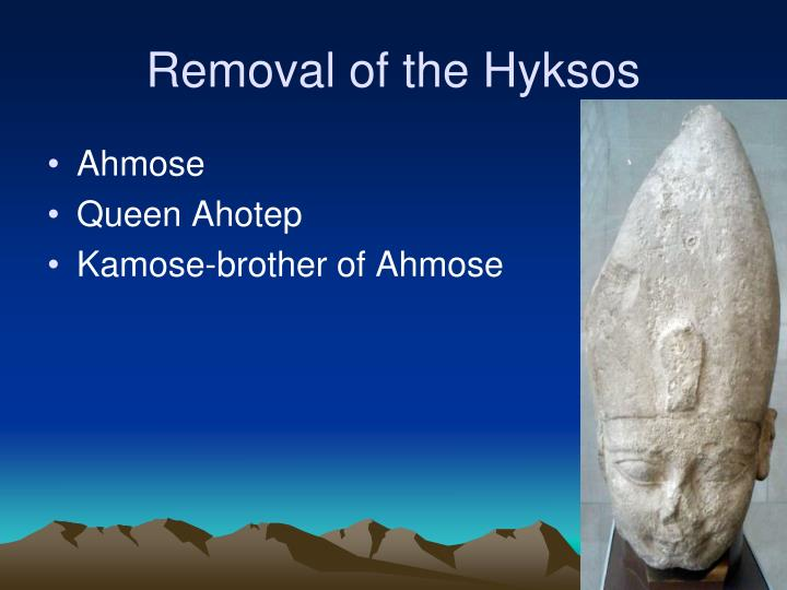 Removal of the Hyksos