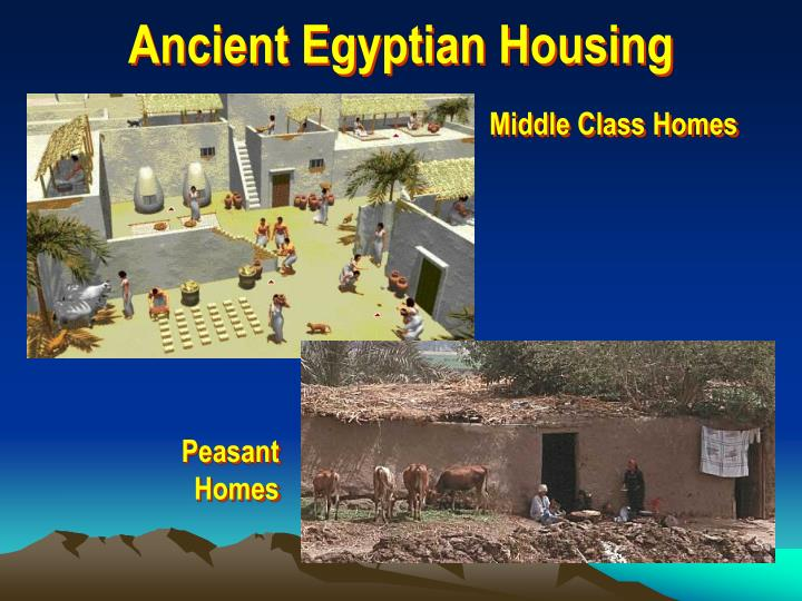 Ancient Egyptian Housing