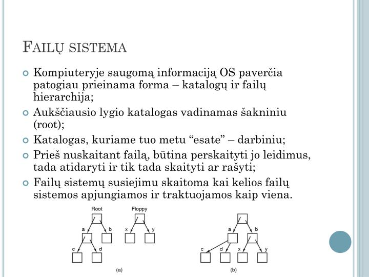 Failų sistema