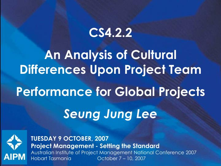 an analysis of the cultural differences Cultural differences do impact businesses occurring in cross-cultural contexts a lot of problems arise in matters of participation, communication and other relational areas however, if business leaders or even the staff understands issues with respect to hofstede's six cultural dimensions, these problems can be analyzed through a different.