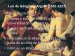 luis de g ngora y argote 1561 1627
