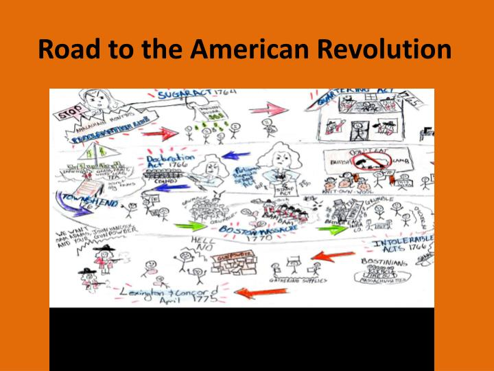 road to the american revolution n.