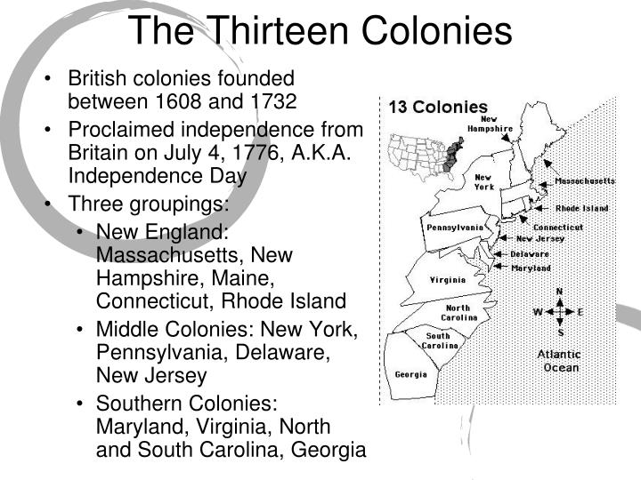 completing the thirteen colonies essay Blended learning is a mixed of face-to-face learning and online learning for half of this unit we will be learning together in class, but the other half you will be doing here, on this site, in the computer lab.