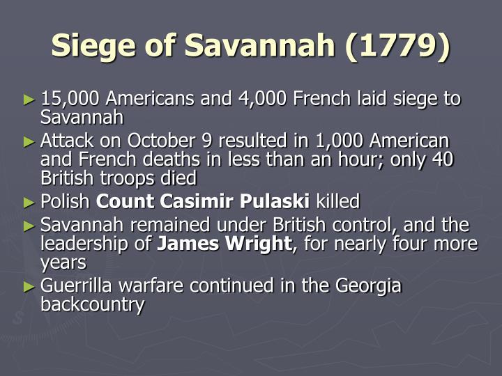 Siege of Savannah (1779)