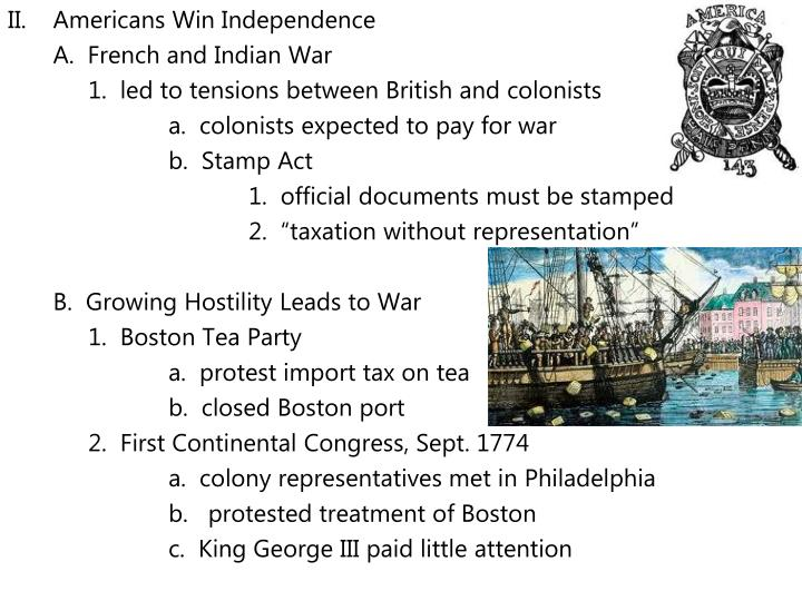 Americans Win Independence