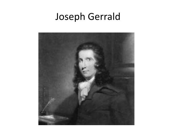 Joseph gerrald