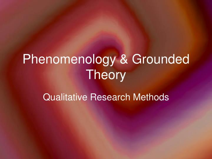 phenomenology research method Phenomenology is the study of structures of consciousness as experienced from the first-person point of view the central structure of an experience is its intentionality, its being directed toward something, as it is an experience of or about some object.