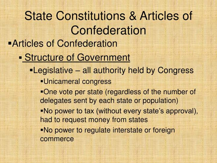articles of confederation constitutional compromises Slides: articles of confederation and constitutional convention starter: of all the countries around the world, which has the least and most favorable views of the united states 1how accurate was your prediction.