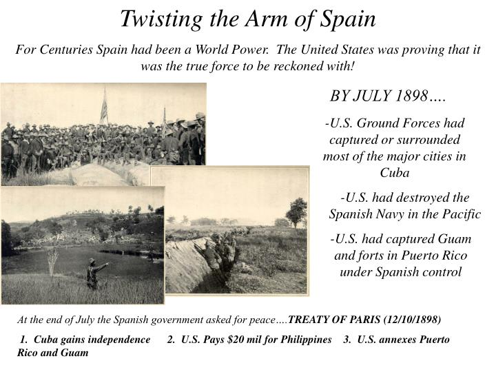 Twisting the Arm of Spain