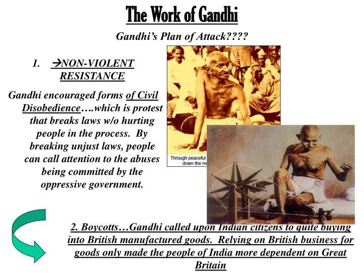 The Work of Gandhi