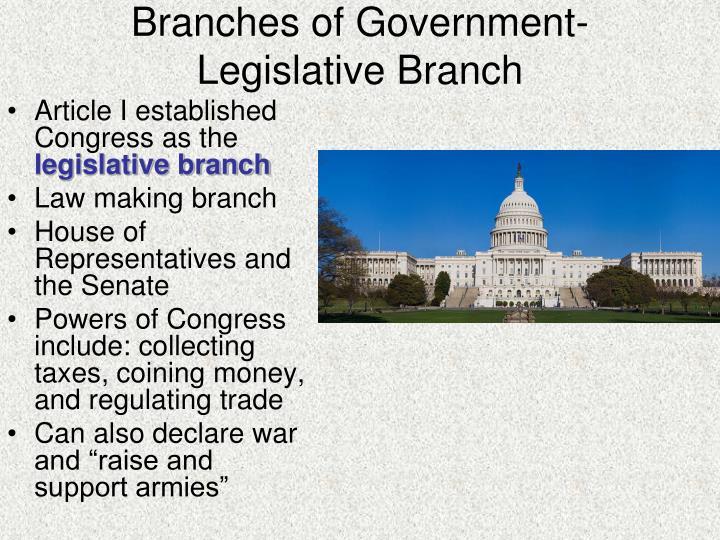 government legislative branch