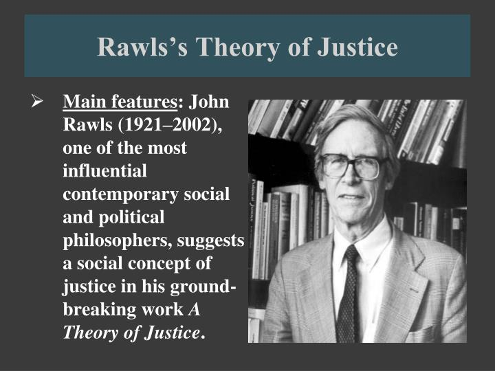 rawls theory of justice Since it appeared in 1971, john rawls's a theory of justice has become a classic the author has now revised the original edition to clear up a number of difficulties he and others have found in the original book.