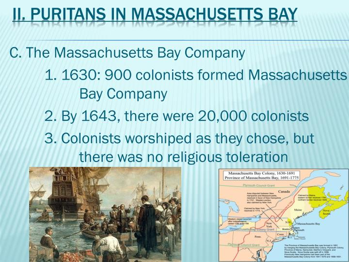puritans new england colonies 1630 1660 The puritan frontier: town-planting in new england colonial development 1630–1660 by william hallerjr by william hallerjr (studies in history, economics and public law, no 568.